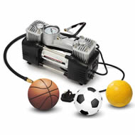 AC AIR COMPRESSOR FS220SS 110V/220V Car Tire Inflator Portable Double Cylinder Pump