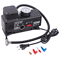 110V 220V 2 in 1 car air compressor DC12V tire inflators air pump 12V mini air compressor 220V AC DC home and car use FS6100A