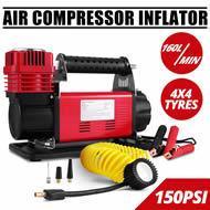 Heavy Duty 12V Portable Air Compressor Car Van Truck 4x4 Tyre Pump